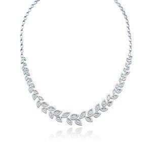 Jewelry - 5 Carats round diamond ladies beautiful necklace s